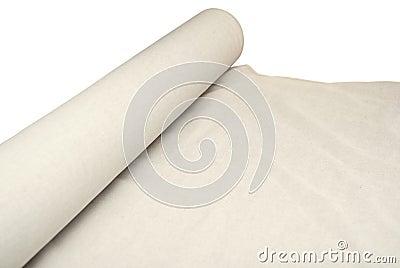 Roll of a linen fabric