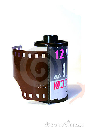 Free Roll Of 35mm Film Royalty Free Stock Image - 1671206