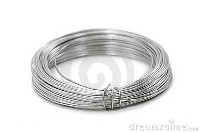 A roll of wire