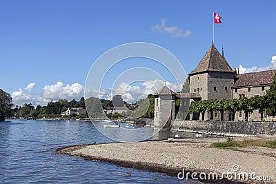 Rolle Castle - Lake Geneva - Switzerland