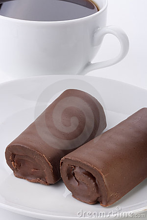 Rolled cake