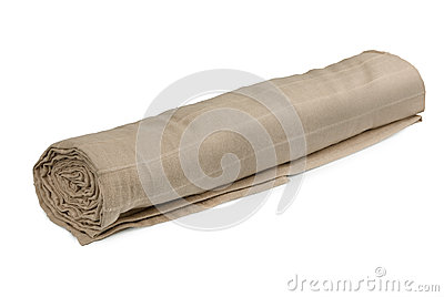Rolled fabric