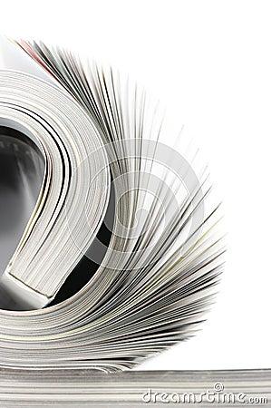 Free Rolled Magazine Stock Photo - 13203490