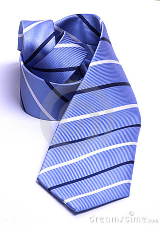 Free Rolled Neck Tie Stock Image - 5130601