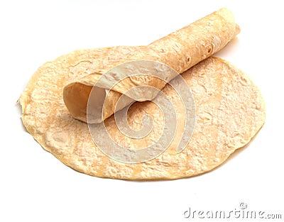 Rolled tortilla