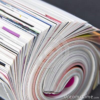 Free Rolled Up Magazine Stock Photos - 14011283