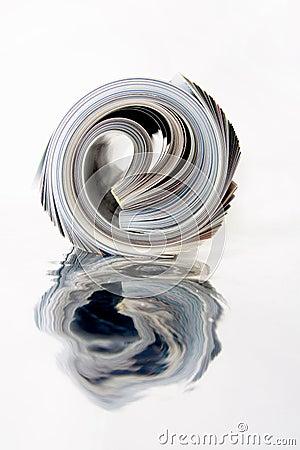 Free Rolled Up Magazine Stock Image - 6272381