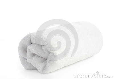 Rolled Up White Beach Towel Royalty Free Stock Images ...