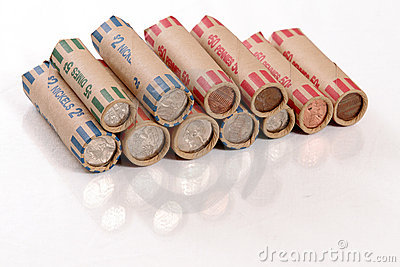 Rolled US Coins