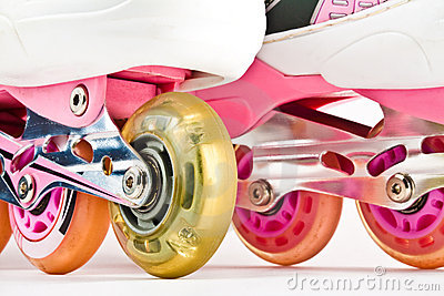 Roller Blades Close Up Royalty Free Stock Photos - Image: 14219648