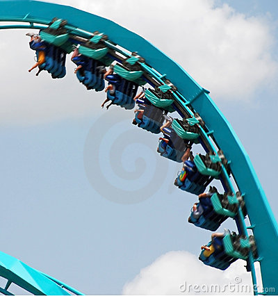 Free Roller Coaster Royalty Free Stock Images - 12924289