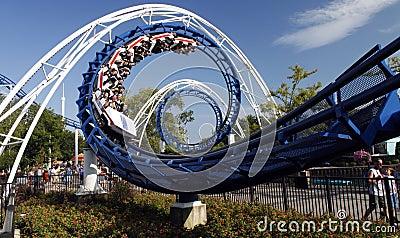 Roller coaster Editorial Photo