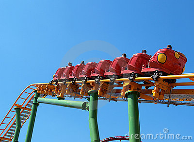 Roller-coaster Editorial Photography