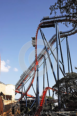 Roller coaster Editorial Image