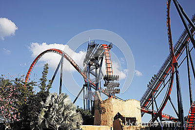 Roller coaster Editorial Photography
