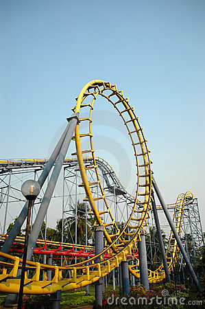 Free Roller Coaster Stock Photography - 6779512