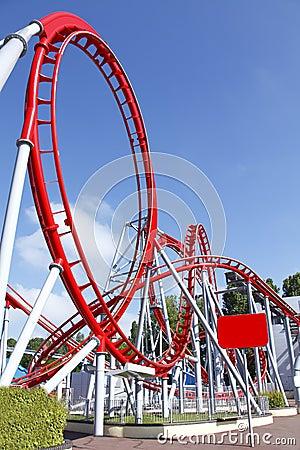 Free Roller Coaster Loop Stock Photos - 19770713