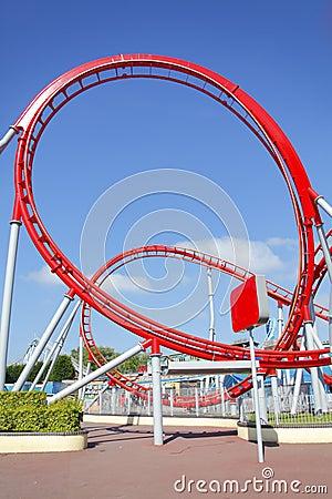 Free Roller Coaster Loop Royalty Free Stock Photos - 19770988