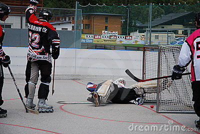 Roller hockey Editorial Image