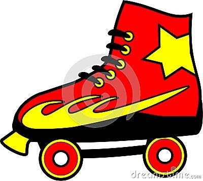 Clip Art Roller Skates Clip Art roller skate stock illustrations 1215 vectors clipart dreamstime