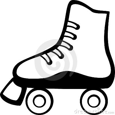 Roller skate vector illustration