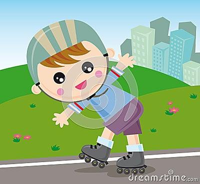 rollerblade boy