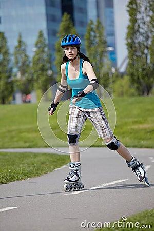 Rollerblade girl II.