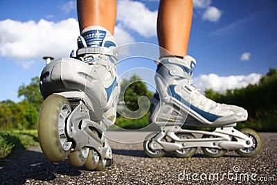 Rollerblades / inline skates
