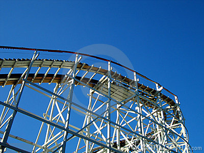 Rollercoaster and Sky