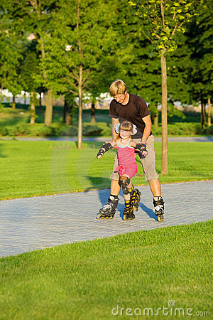 Free Rollerskating Royalty Free Stock Photography - 15334767
