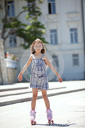 Free Rollerskating Stock Image - 41677401