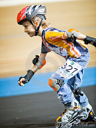 Rollerskating competition Editorial Image