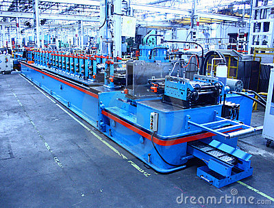 Rollforming Machine for Commercial Manufacturing