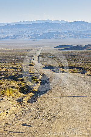 Rolling Desert Road