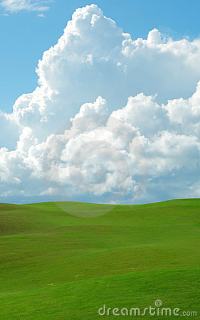 Free Rolling Green Hills Royalty Free Stock Image - 6701956