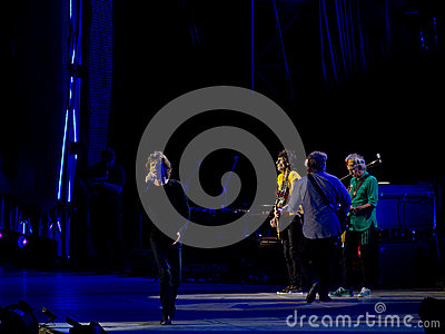 The Rolling Stones concert, Rome, Italy - June 22nd 2014 Editorial Photo