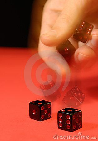 Free Rolling The Dice Royalty Free Stock Photos - 20947988