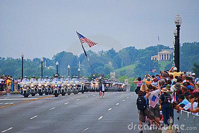 Rolling Thunder, Washington, DC Editorial Stock Image