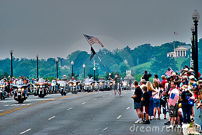 Rolling Thunder, Washington, DC Editorial Photography