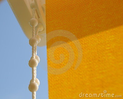 Rollo cienia kolor żółty