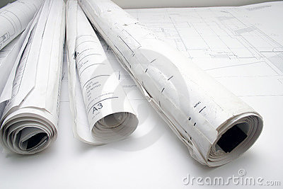 Rolls of  drawing