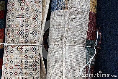 Rolls oder persische Teppiche