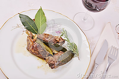 Rolls with pork liver Network