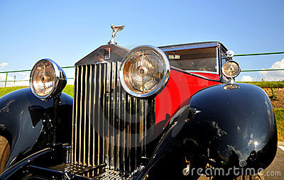 Rolls-Royce 20/25 hp Limousine Editorial Stock Image