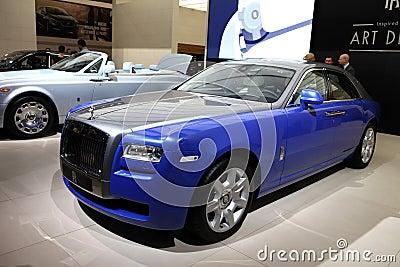 A Rolls-Royce car Editorial Stock Photo