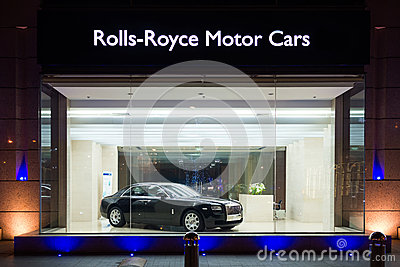 Rolls-royce car for sale Editorial Image