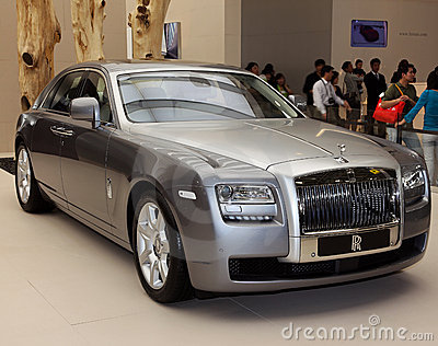 Rolls-Royce Ghost Editorial Image
