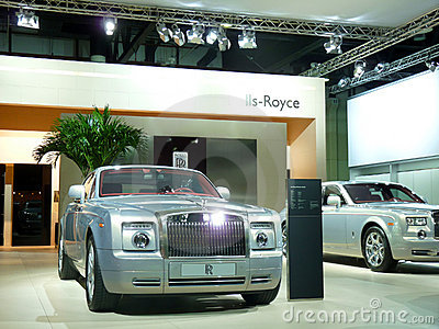Rolls Royce Luxury Cars Editorial Photography