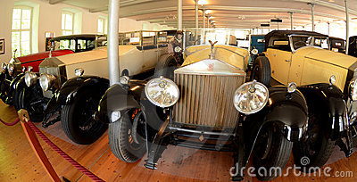 Rolls Royce museum Editorial Stock Photo