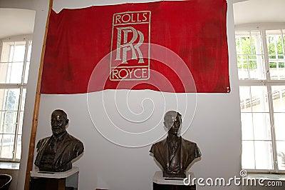 Rolls royce museum in Dornbirn Editorial Stock Image